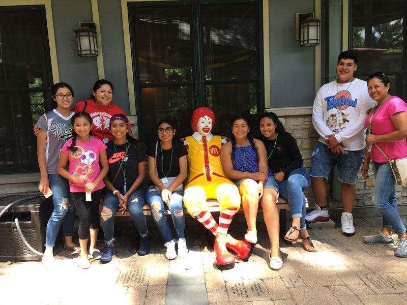 16U Softball at Ronald McDonald House - July 26, 2018 (7)