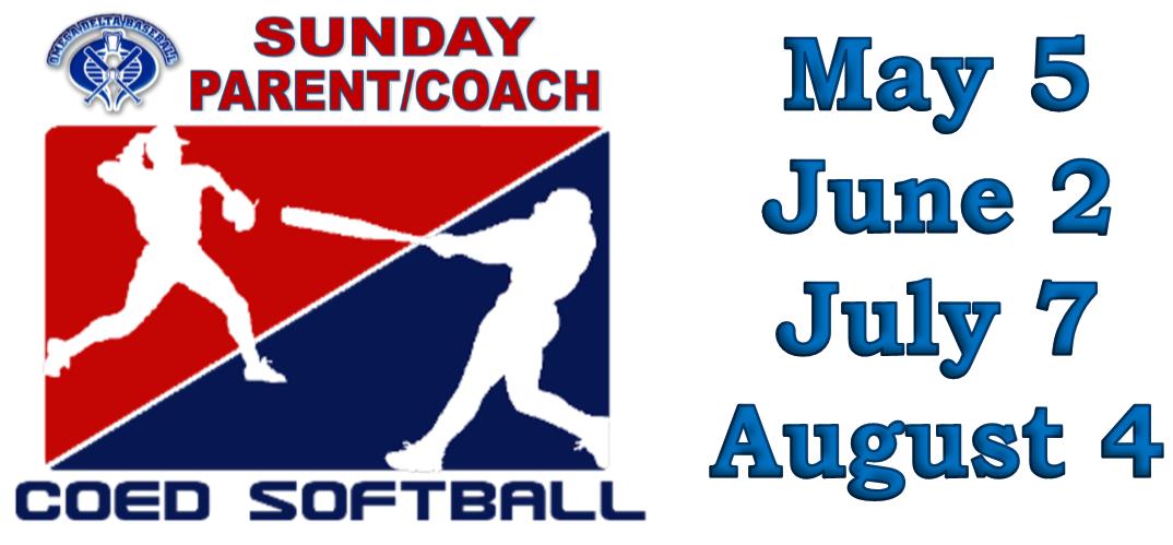 Sunday Adult Co-Ed Softball